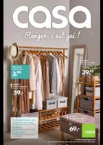 Catalogues et collections Casa : Ranger c'est gai!