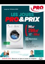 Prospectus  : Les jours Pro & Prix