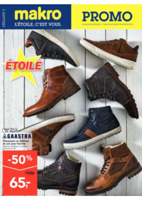 Promos et remises Makro MACHELEN : Promo sur les chaussures GAASTRA