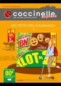 Prospectus Coccinelle Express PARIS : Mes petits prix gourmands!
