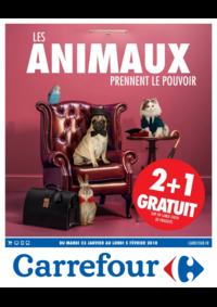 Prospectus Carrefour CHARENTON LE PONT : Les animaux prennent le pouvoir