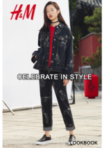 Catalogues et collections H&M : Lookbook femme Celebrate in style