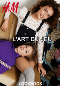 Catalogues et collections H&M Paris 120 rue de Rivoli : Lookbook femme L'art du jeu