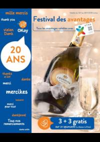 Prospectus OKay Supermarchés ETTERBEEK : Festival des avantages
