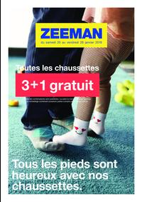 Prospectus Zeeman Chelles : 3+1 gratuit