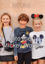 Catálogos e Coleções Lefties : Lookbook Into the Mickey World