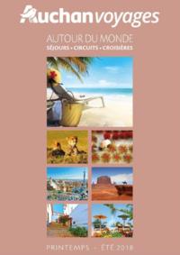 Catalogues et collections Voyages Auchan Toulouse : Brochure Autour du monde