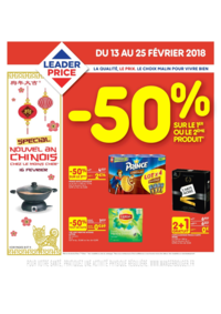 Prospectus Leader Price Clermont-Ferrand : Nouvel an chinois