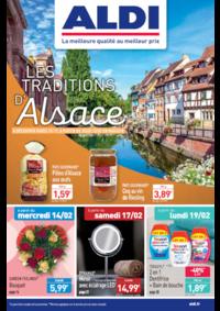 Prospectus Aldi Longjumeau : Les traditions d'Alsace