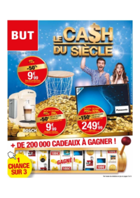 Prospectus BUT : Le cash du siecle