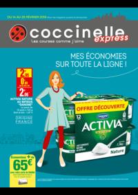 Prospectus Coccinelle Express PARIS : Mes économies sur tout la ligne !