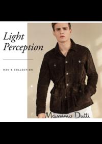 Catalogues et collections Massimo Dutti Women Men Bruxelles - Rue neuve  : Le lookbook Light perception