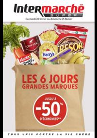 Prospectus Intermarché Hyper : Les 6 jours grandes marques jusqu'à 50% d'économies