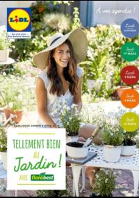 Prospectus Lidl LOUVIERS : Tellement bien au jardin avec Florabest