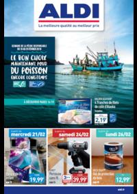 Prospectus Aldi : Le bon choix maintenant pour du poisson encore longtemps