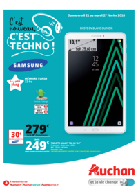 Prospectus Auchan TRIGNAC : C'est nouveau c'est techno