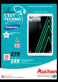 Prospectus Auchan PUTEAUX : C'est nouveau c'est techno