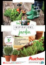 Prospectus Auchan : Nos inspirations jardin