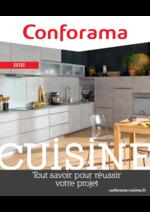 Prospectus Conforama : Conforama guide cuisine