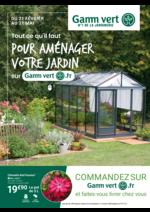 Prospectus  : Pour aménager votre jardin