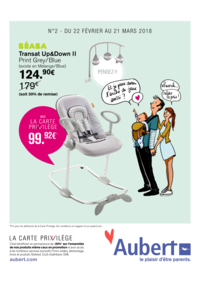 Prospectus Aubert PARIS : Go, les prix promos !
