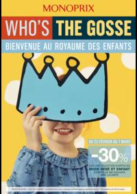 Prospectus Monoprix LE CHESNAY : Bienvenue au royaume des enfants