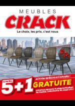 Promos et remises Meubles Crack : Action spéciale chaises ! 5+1 gratuite