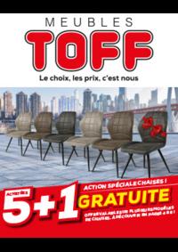 Promos et remises Meubles Toff : Action spéciale chaises ! 5+1 gratuite