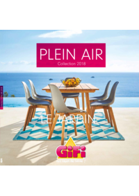 Catalogues et collections Gifi : Plein air collection 2018