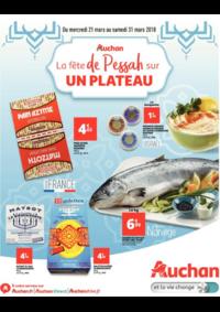 Prospectus Auchan PUTEAUX : La fête de Pessah sur un plateau