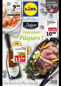 Prospectus Lidl PARIS 24-28 rue Henri Labrouste : Joyeuses Pâques !