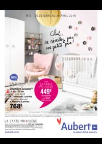 Prospectus Aubert SAVIGNY LE TEMPLE : Chut, ne réveillez pas nos petits prix !