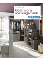 Catalogues et collections Castorama : Optimisons vos rangements
