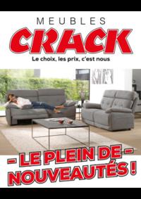 Catalogues et collections Meubles Crack : Le plein de nouveautés