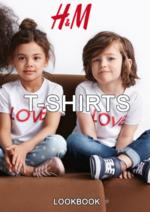 Catálogos e Coleções H&M : Lookbook criança T-shirts