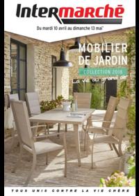 Prospectus Intermarché Contact CORRE : Mobilier de jardin collection 2018