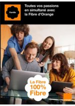 Prospectus  : La fibre 100% fibre