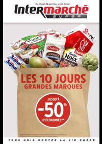 Prospectus Intermarché Super Saint-Pol-sur-Ternoise : Les 10 jours grandes marques