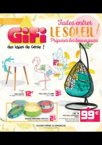 Prospectus Gifi GOUSSAINVILLE : Faites entrer le soleil ! Préparez les beaux jours