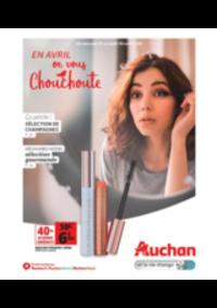 Prospectus Auchan Val d'Europe Marne-la-Vallée : En avril on vous chouchoute