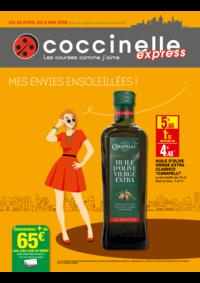 Prospectus Coccinelle Express Aubervilliers : Mes envies ensoleillés !