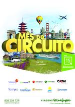 Folhetos Viagens El Corte Inglés : Mês do circuito