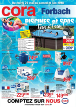 Prospectus  : Spa & piscine