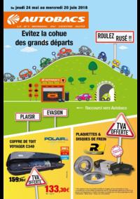 Prospectus autobacs Villebon-sur-Yvette : Évitez la cohue des grands départs