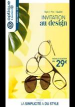 Prospectus Optique E.Leclerc : Invitation au design