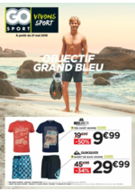 Prospectus Go Sport : Objectif Grand Bleu