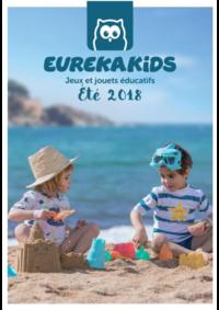 Prospectus Eurekakids Bruxelles - Ixelles : Été 2018. Jeux et jouets éducatifs.