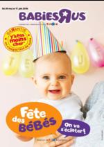 Prospectus Toys R Us : Fête des bébés