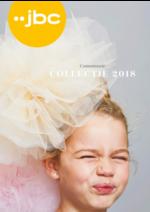 Catalogues et collections JBC : communie Collectie 2018
