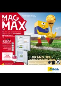 Journaux et magazines Axtem GOURDON : Le Mag de Max: Electroménager